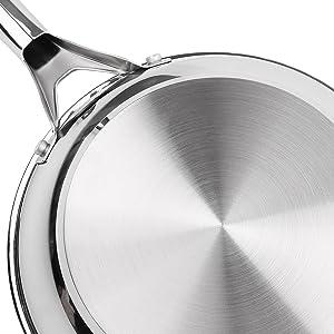 17-piece nonstick cookware set