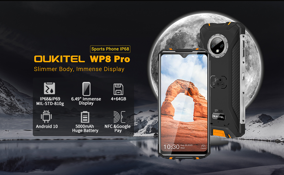 OUKITEL WP8 PRO rugged smartphone