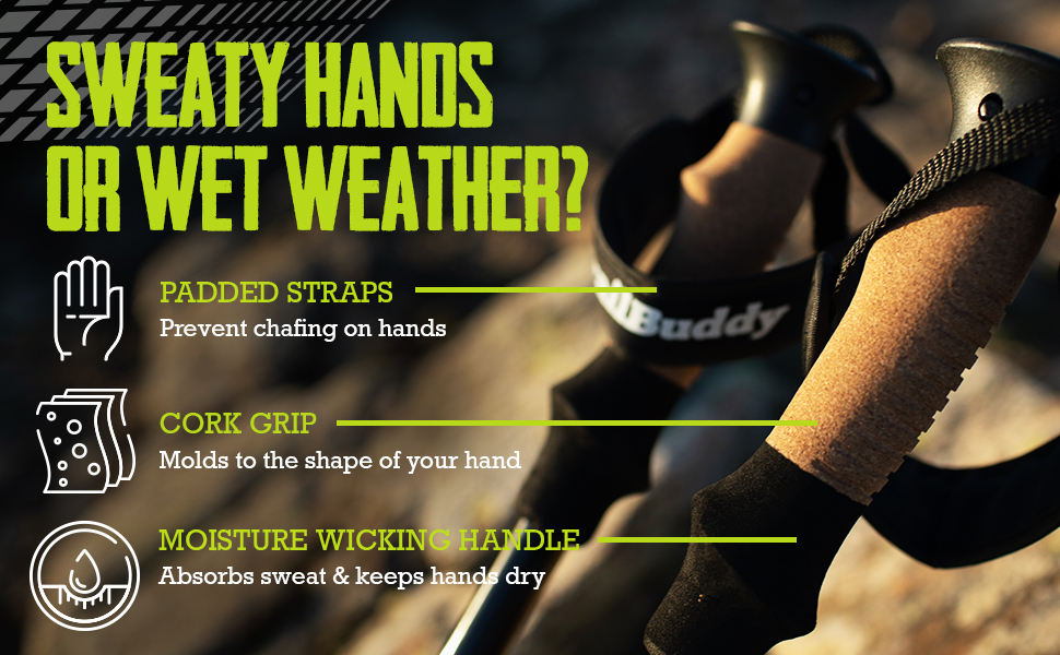 Sweaty hands or wet weather
