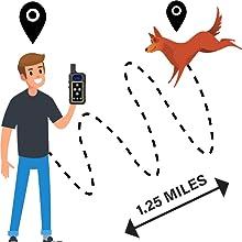 1.25 miles long range, safe and effective