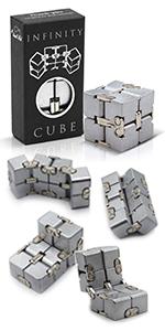 Metal Infinity Cube