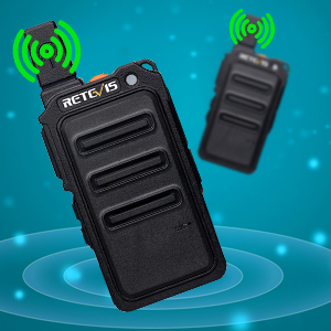 Retevis RT619 Walkie Talkie Profesional, PMR 446 sin Licencia 16 Canales, VOX 50CTCSS/210DCS, Mini Walkie Talkie Recargable, Walky Talky con ...