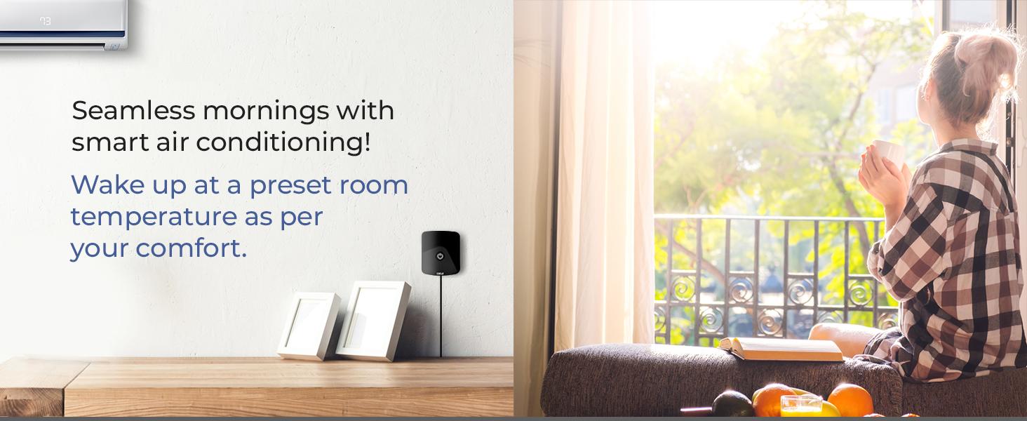 Weekly schedule, smart thermostat, smart AC control, Cielo Breez, Sensibo, Ecobee, Nest, Honeywell