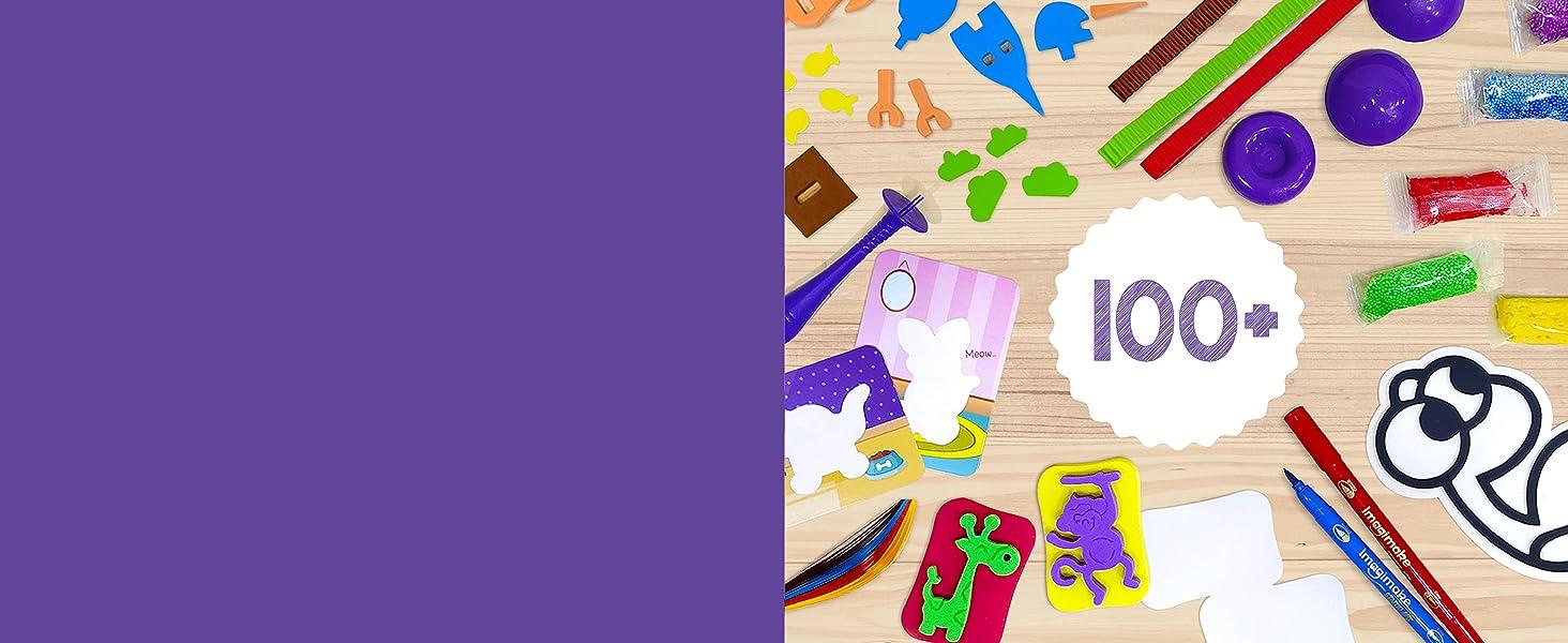 Tools & Supplies Art & Craft Creative Activity Set