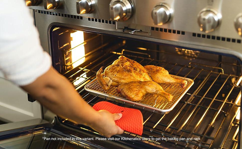 roasting rack,. chicken rack, grill rack, metal rack, stainless steel rack for baking