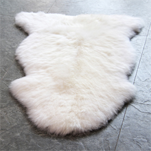 sheepskin rug faux