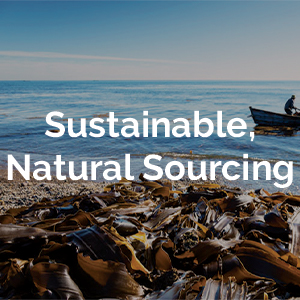 Sustainable, Natural Sourcing