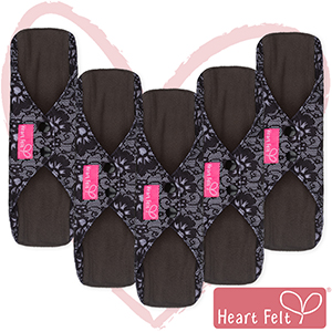 Heart Felt, Reusable Menstrual Pads