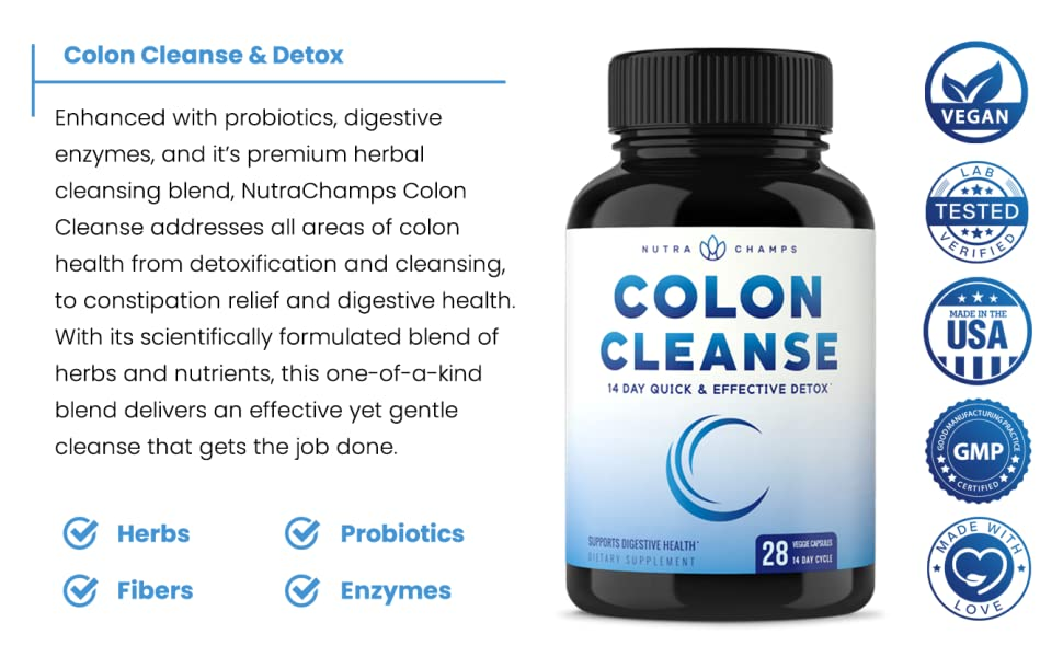colon cleanse and detox supplement