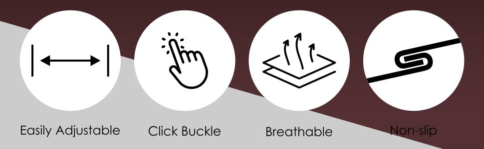 Quick Release Buckle Mens Nylon Belt