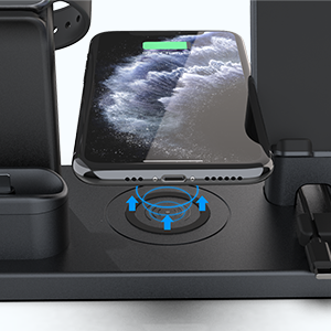 iphone wireless charging station