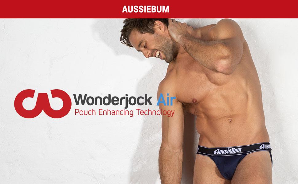 New WJ Air Aussiebum Men/'s Underwear Briefs WonderJock Air