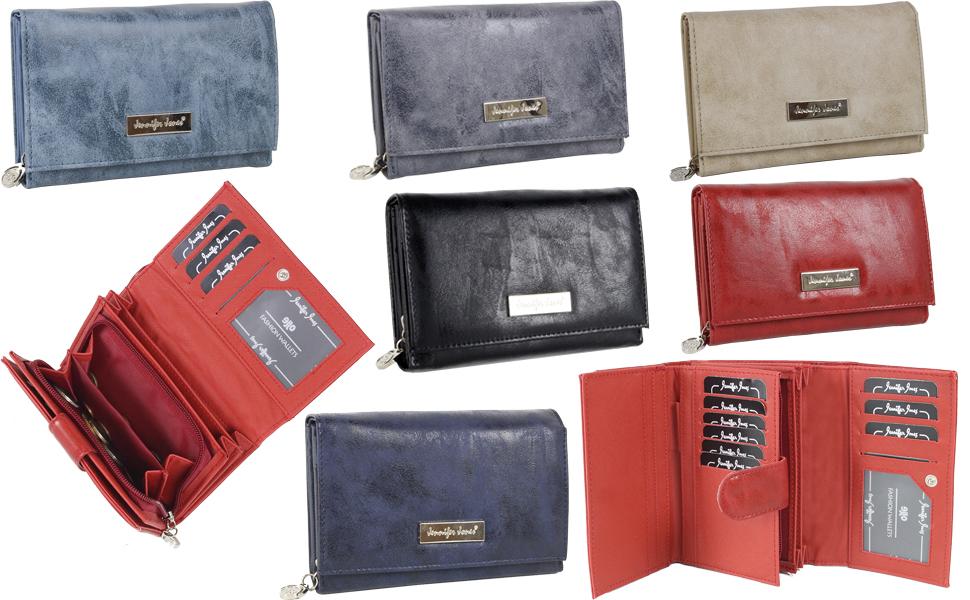 Monedero grande para mujer con muchos compartimentos, color azul, gris, rojo, negro, beige, marrón, azul marino