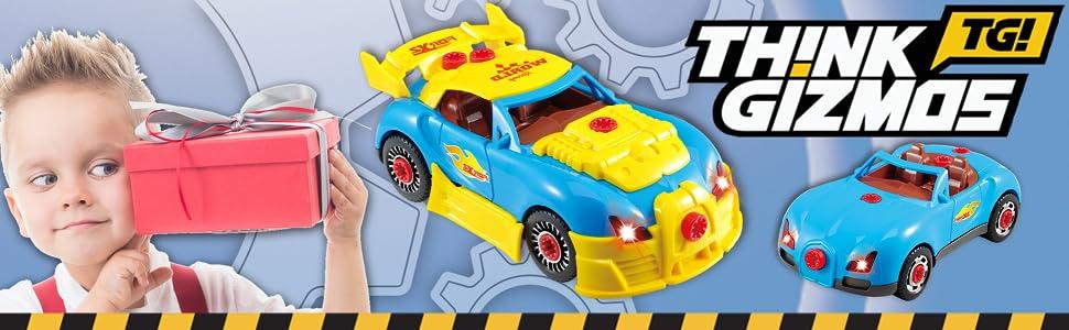 TG642 Think Gizmos Racing Car Kit