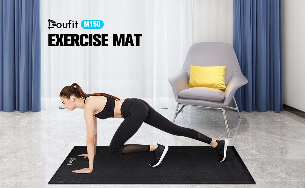 Exercise equipment mat
