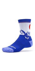 Vision Five Running Socks, Cycling Socks