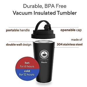 vacuum insulated tumbler