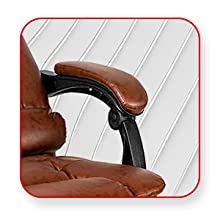 Kepler Brooks, Office Chair, Furniture, High Back Office Chair, Flexible and Padded Arm rest