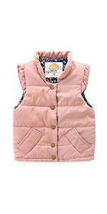 Toddler Girls Sweet Vest Jacket
