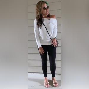 womens off shoulder top long sleeve casual sexy shirt cute top fall winter clothing tunic top