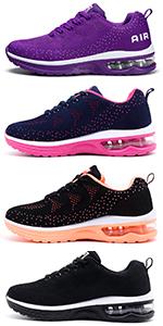 Amazon.com | STQ Slip On Breathe Mesh Walking Shoes Women ...