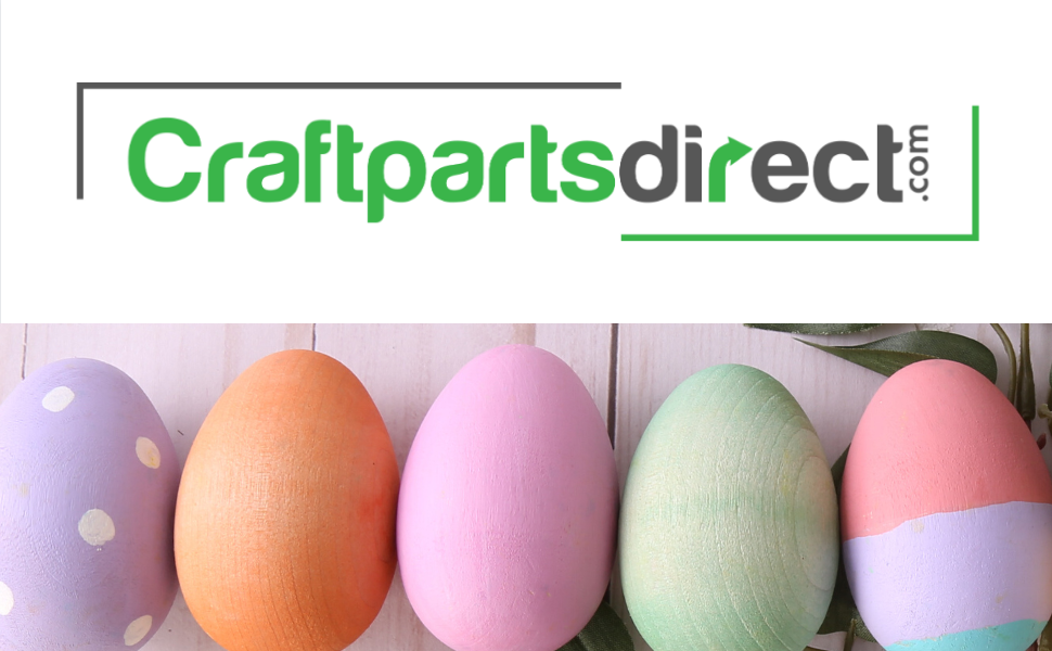 Let/'S Make 10 Wooden Easter Eggs And Decorate X Diy Unfinished Wooden Eggs