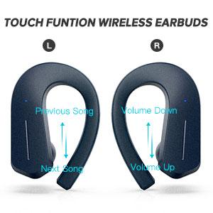 Безжични слушалки с контрол на силата на звука