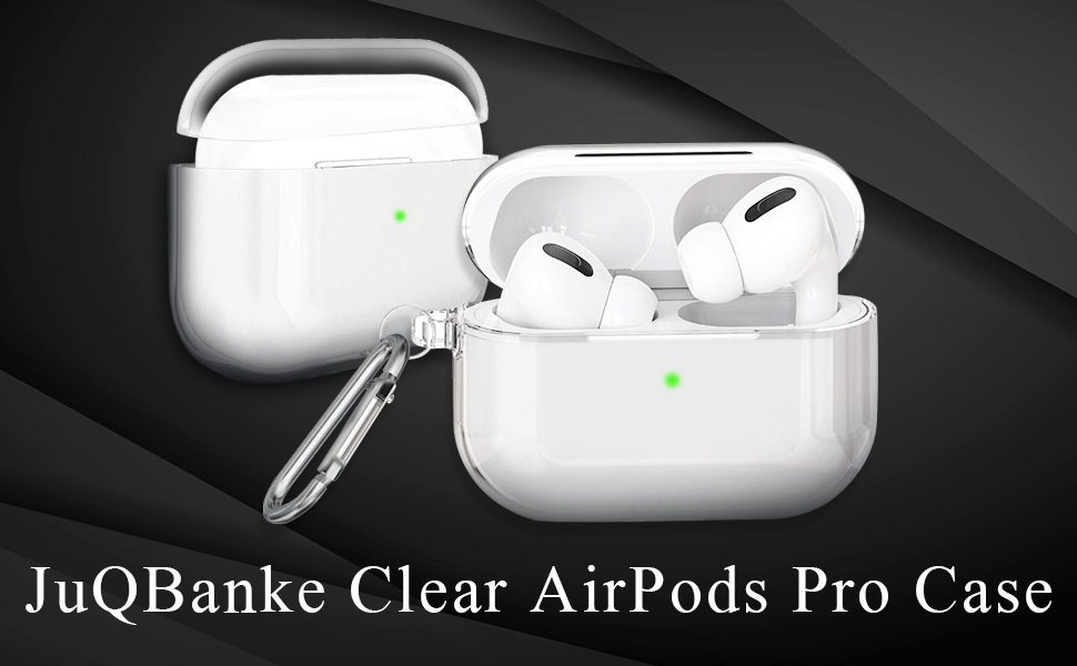 Crystal Clear Ulak Airpods Pro Case Clear Designed Protective