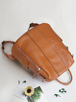 Take a look at S-ZONE Women Soft Leather Backpack!