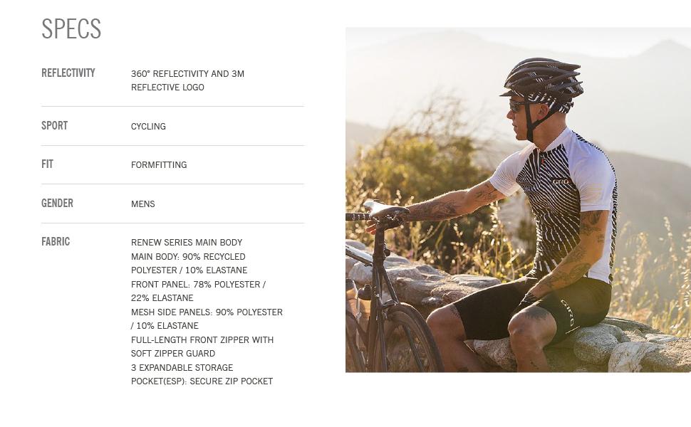 giro apparel Chrono Expert Jersey men bike specs