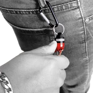Quick Release Magnetic Keychain