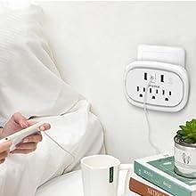 Bedside charging station
