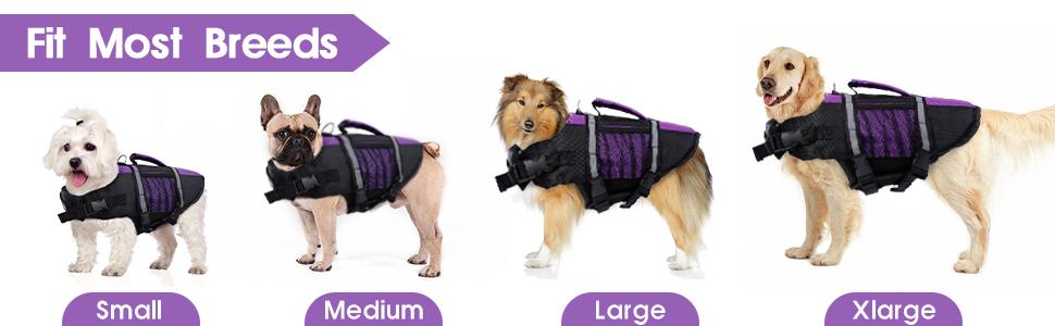 pet dog lifesaver jacket