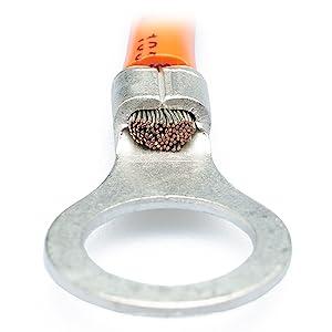 wirefy heat shrink connectors brazed seam barrel