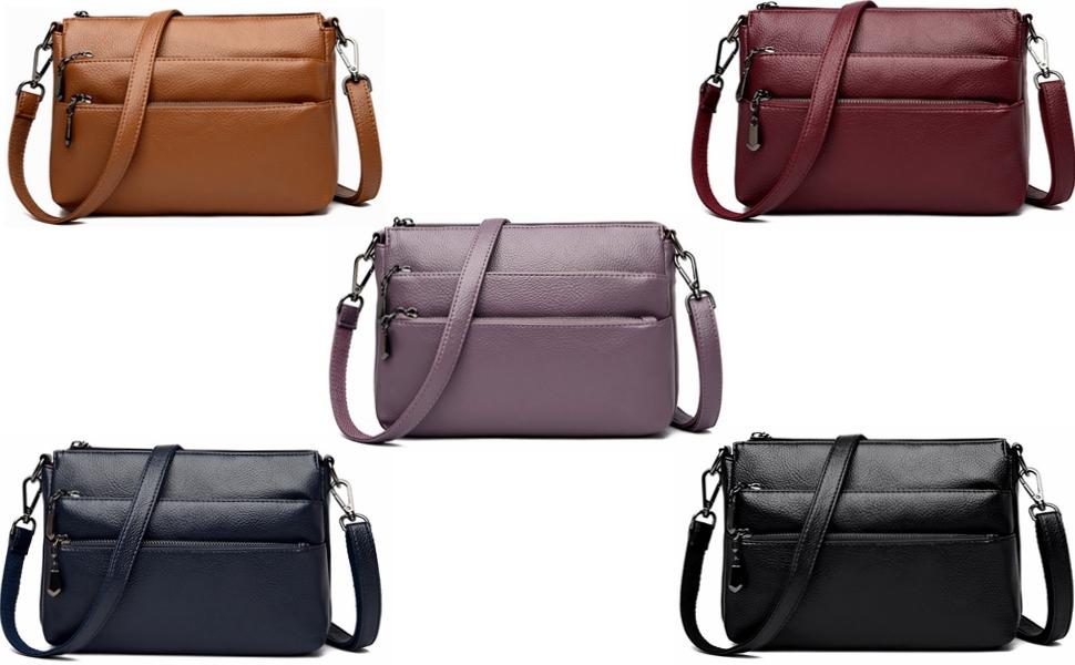 ladies multi-pockets everyday bags