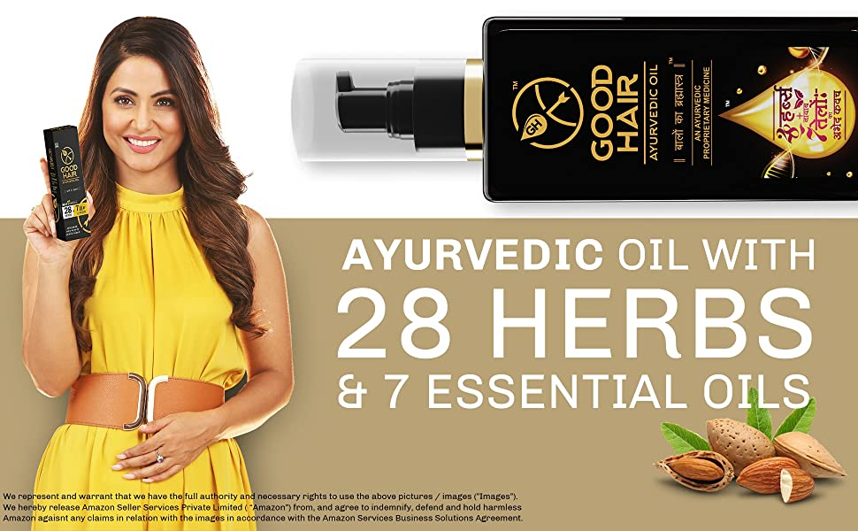 Good Hair Oil Essential Oil ayurvedic hair oil