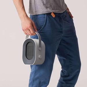 portable fan heater fan,mini ceramic space fan heater electric for home