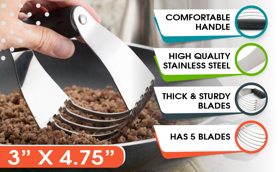 comfortable handle, high quality stainless steel thick and sturdy blades 5 blades compared to 4