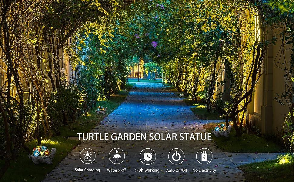 Garden Solar Statue