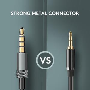 metal headphones