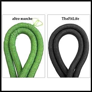 TheFitLife Tubo Flessibile da Giardino Espandibile Standard UE Espandibile Conservazione Facile Tubo Flessibile per lAcqua 7 Interno in Triplo Lattice Robusto e Raccordi in Metallo