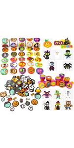600+ Halloween Craft Assortment Kit