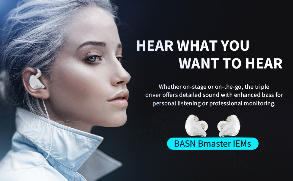 in-ear monitors headphones with mic
