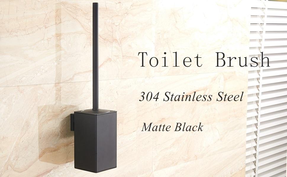 toilet brush Matte Black