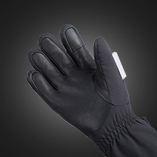 heated ski gloves women