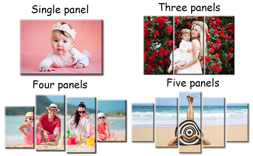 picture canvas custom wall art photo print portrait small dog individual wedding graduation mementos