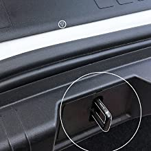 Image Instructing How To Properly Line Up Bumper Cover With Trunk Latch