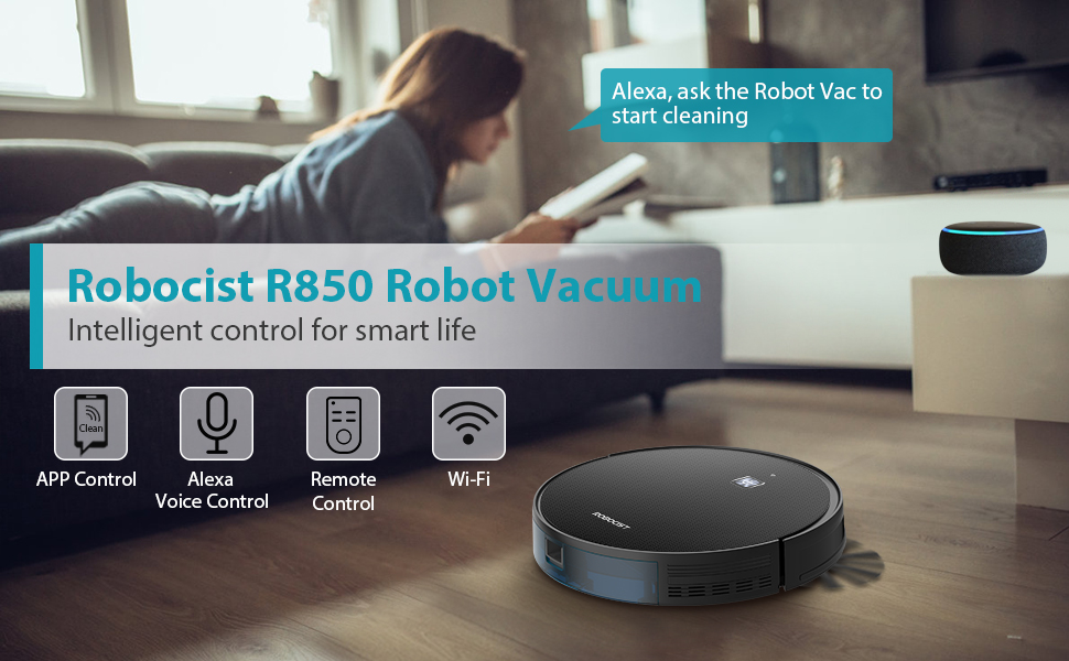 Robotic Vacuum Cleaner for pet hair