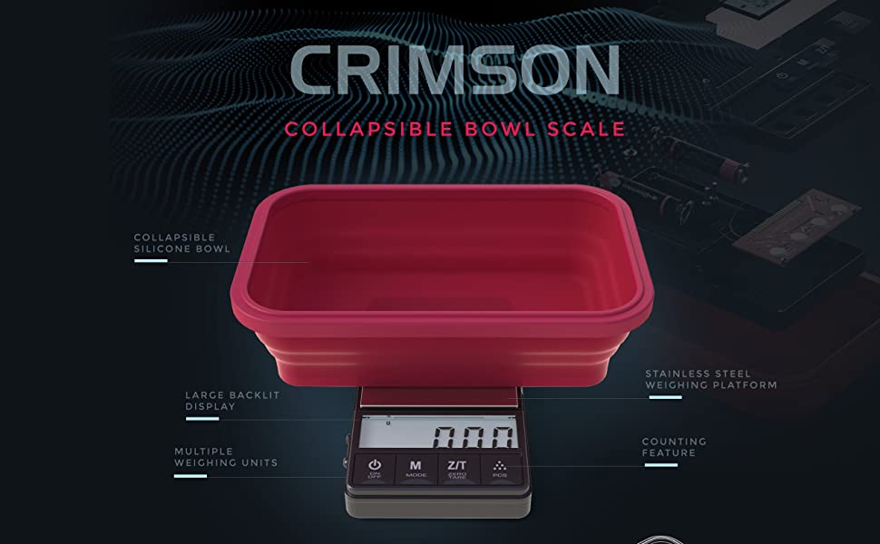 Digital food scale with bowl, food scale, baking scale in grams, food scale with cover,