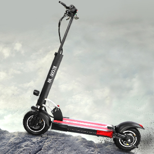 urbetter Patinete Eléctrico Scooter Plegable 500W,Asiento Ajustable,Neumáticos de 10 Pulgadas, Velocidad Máx 43 km/h, 45KM de Largo Alcance,Patinete ...